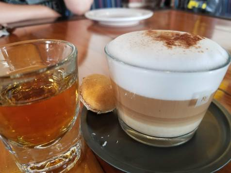 Tequila Cappuccino Pairing